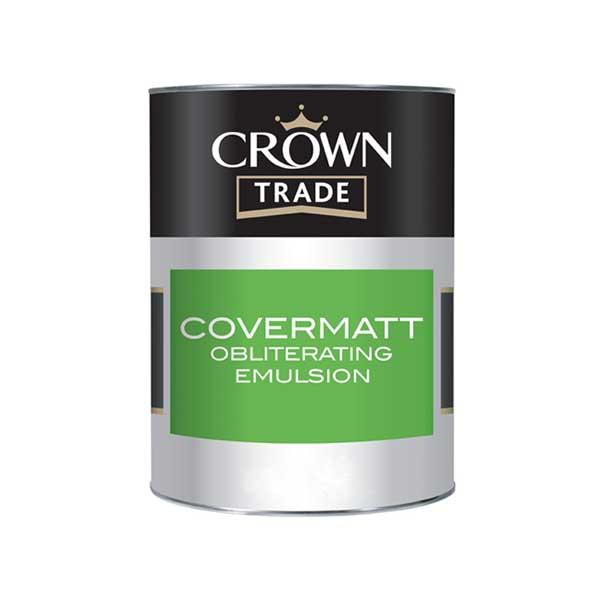 Crown Trade Covermatt Obliterating Emulsion Pdi Paints